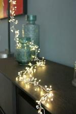 Crystal Cluster - 100 LED Indoor Light Chain w/Built In Timer - Battery Powered