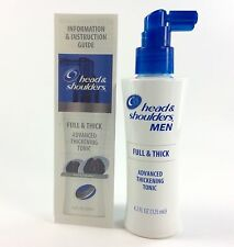 Head & Shoulders Men Full & Thick Advanced Thickening Hair Tonic 4.2 fl.oz NEW