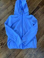 Euc Ivivva By Lulemon Purple Lightweight Rain Jacket Size 12 Girls