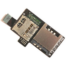 100% Genuine HTC Sensation G14 SIM+microSD card slot reader flex holder Z710e