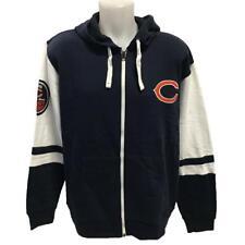 NFL Men s Chicago Bears Zipper Hoody Sweatshirt Large Football Hoodie with  Logo 1721b8864