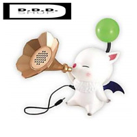 taito Final Fantasy XIV  Moogle speaker classical trumpet horn type  green