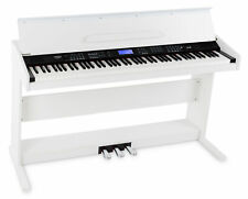 B-WARE 88-Tasten Digital Piano Beginner Home Keyboard Klavier 3-Pedale USB Weiß
