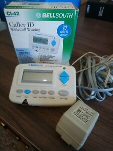 BELLSOUTH CALLER ID CALL WAITING , & MORE FUNCTIONS CI-42, Preowned