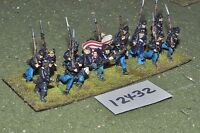 25mm ACW / union - american civil war infantry 16 figures - inf (12432)