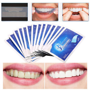28Pcs/14 Pairs 3D Ultra White Professional Teeth Whitening Strips Tooth Whitener