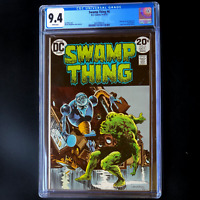SWAMP THING #6 💥CGC 9.4 WHITE PGs💥 Len Wein Story! 1st Series! DC 1973