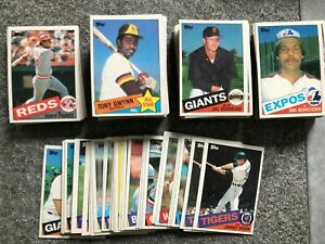 1985 Topps Baseball You Pick Complete Your Set - NM MT 500- 790