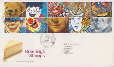 Royal mail greetings stamps in great britain ebay gb royal mail fdc 1991 greetings cartoons stamp set laughterton pmk m4hsunfo