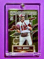 Tom Brady OPTIC DOMINATORS EMBOSSED SPECIAL INSERT PREMIUM TAMPA BAY CARD Mint!