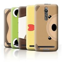 STUFF4 Back Case/Cover/Skin for Asus Zenfone 2 ZE551ML/Animal Stitch Effect
