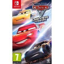 Cars 3: impulsado para ganar (Nintendo Switch) Nuevo Sellado