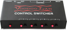 Voodoo Labs Control Switcher MIDI Amp Amplifier Channel Switch Controller