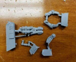 Warhammer 30k Space Marine Bits:Forge World Deimos Rhino Pintle Mount MultiMelta