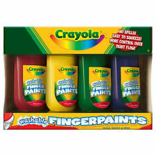 Crayola Washable Fingerpaints - 4 Pack