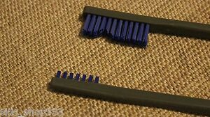 BIN=1 Buy 2 get 1 free,Nylon Brush Double ended Coin cleaning BEST price on EBAY