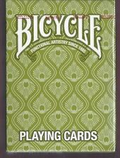 1 DECK Bicycle Peacock (green) playing cards