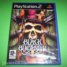 BLACK BUCCANEER NUEVO Y PRECINTADO PAL ESPAÑA PLAYSTATION 2