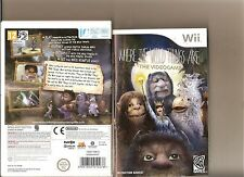 WHERE THE WILD THINGS ARE  THE VIDEO GAME NINTENDO WII