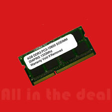 4GB DDR3 1333 MHz PC3-10600 Sodimm Laptop RAM MacBook Pro Apple iMac Memory