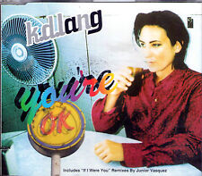 MAXI CD SINGLE 4T K.D LANG YOU'RE OK DE 1996 TBE