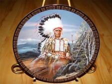 """""""Red Cloud"""" American Indian Buck Tom Beecham The Franklin Mint Plate Company"""