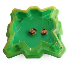 Green Arena Disk For Beyblade Burst Gyro Spinning Top Stadium Boys Kids Toy