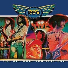 *NEW* CD Album Reo Speedwagon - Live: You Get What .. (Mini LP Style Card Case)
