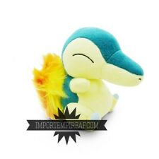 CYNDAQUIL PELUCHE 20 CM pupazzo Typhlosion Hericendre Feurigel Quilava figure