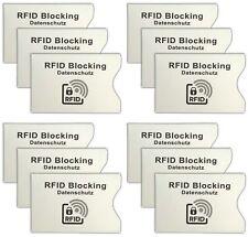 12 Pièces RFID Housses   Carte d'identité Housse de protection   EC-carte Housse