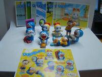 Ü Ei Doraemon aus Mexico, Argentinen Komplett mit allen Figuren und BPZ