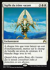 *MRM* FRENCH 4x Sigille du trône vacant / Sigil of the Empty Throne MTG Origins