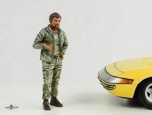 Retro Mechanic Figurine Tim 1:18 Figurines American Diorama