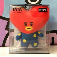 BTS  BT21 Official Authentic TATA Bag Charm Plush Doll