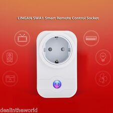 LIGAN SWA1 Home Wifi Smart Socket Wireless Remote Control Outlet Switch EU PLUG