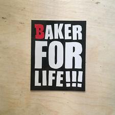 Baker skateboards for life Andrew Reynolds sticker decal bumper laptop Hawk SK8