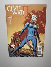 Civil War II #7 Ms. Marvel Battle Variant in MYLAR! 1:15 variant w/CODE 6 HD pix