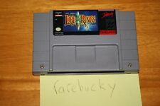 J.R.R. Tolkien's The Lord of the Rings, Vol. 1 (Super Nintendo SNES) CART ONLY!