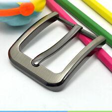 Zinklegierung Stiftschnalle für Männer Ledergürtel Ersatzteil 40mm Silber Bronze