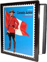 Unitrade Canada Junior 3-Ring Stamp Album Binder - New!