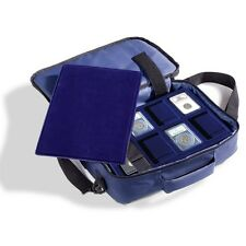 Travel Bag For Coins Traveler Suitcase + 4 Certified Slabs Trays Also Fit Tablet