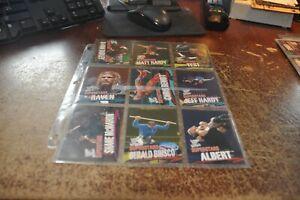 2001 Fleer WWF Wrestlemania wrestling cards lot of 74 wwe foley edge christian +