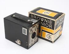 KODAK CANADA SIX-20 BROWNIE JUNIOR, BOXED, BAD BULB, MIRRORS LOOSE/cks/195119