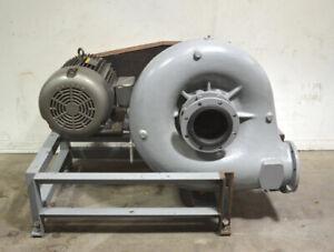 "Baldor Cornell 8NHPP-F8K P-8 8"" 75-Hp 3-Ph Hydro-Transport Food-Pump & Motor"