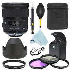 Sigma 24mm f/1.4 DG HSM Art Lente Para Nikon F Montaje Kit de Filtro + + Kit de Accesorios