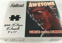 """FALLOUT EXCLUSIVE AUTH PUZZLE OFFICIAL BETHESDA/USAOPOLY """"CURSE OF THE BURNED!"""""""