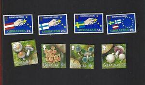 Gibraltar sc#672-5,950-3 (1995-2003) Complete MNH