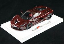 1/18 BBR FERRARI LAFERRARI FULL RED CARBON FIBER BODY DELUXE BASE LE 20 PCS N MR