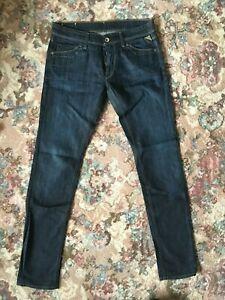 Replay Jeans low rise W31 L34 tall indigo blue