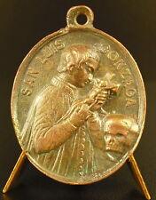 Médaille Saint Louis de Gonzague San Luis Gonzaga Luigi Italie XVII Italia medal